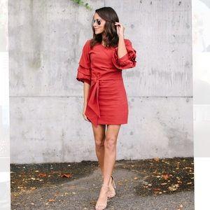 Belfast dress in NAVY